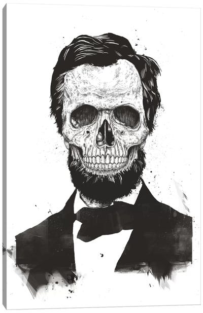 Dead Lincoln  Canvas Art Print