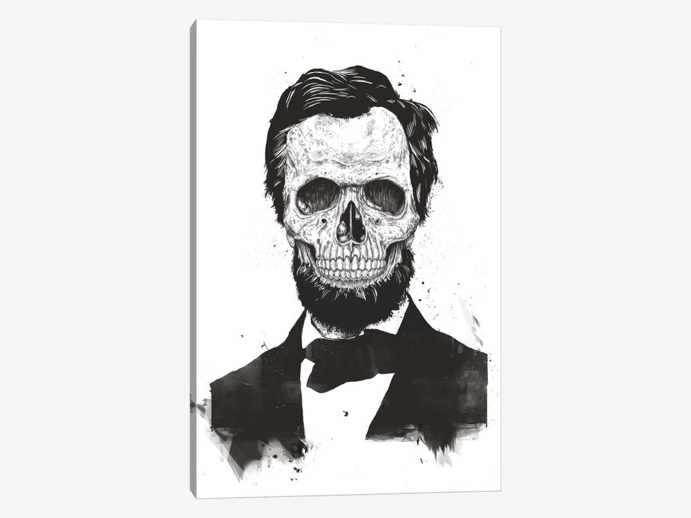 Dead Lincoln  by Balazs Solti 1-piece Art Print