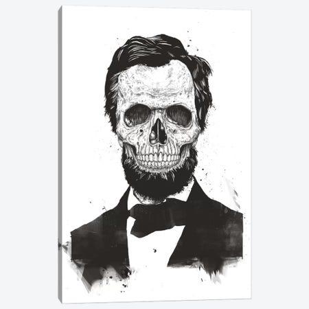 Dead Lincoln  Canvas Print #BSI124} by Balazs Solti Canvas Artwork