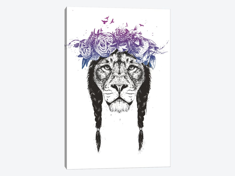 King Of The Jungle by Balazs Solti 1-piece Canvas Wall Art