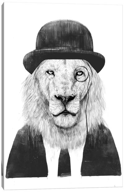 Sir Lion Canvas Art Print