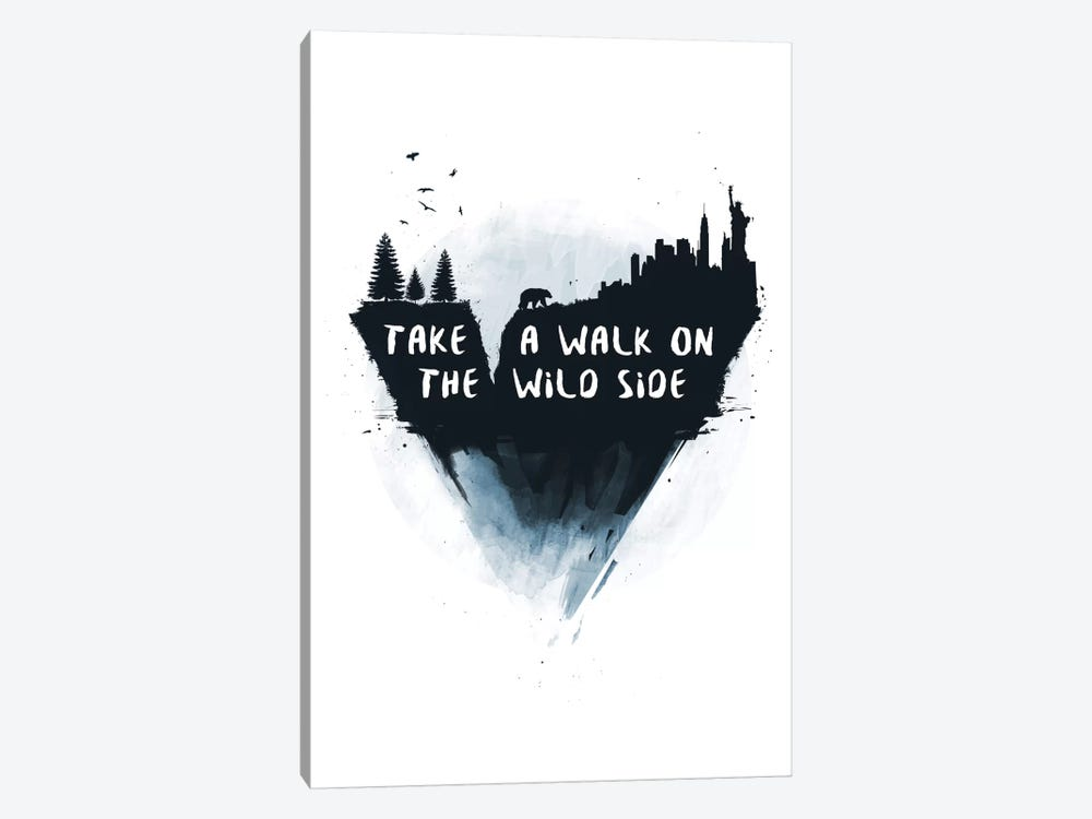 Take A Walk On The Wild Side by Balazs Solti 1-piece Canvas Wall Art