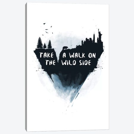Take A Walk On The Wild Side Canvas Print #BSI134} by Balazs Solti Canvas Print