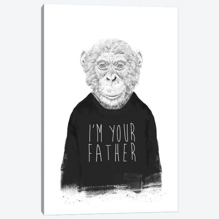 I'm Your Father Canvas Print #BSI143} by Balazs Solti Canvas Art Print