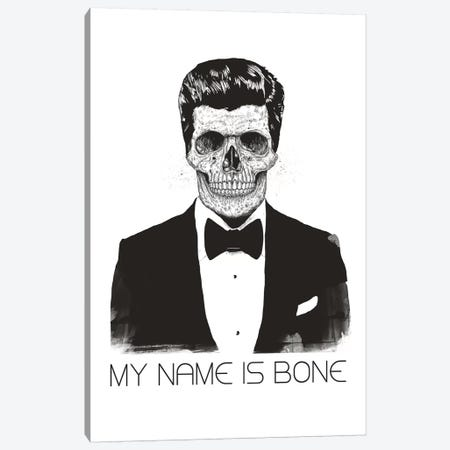My Name Is Bone Canvas Print #BSI144} by Balazs Solti Canvas Wall Art
