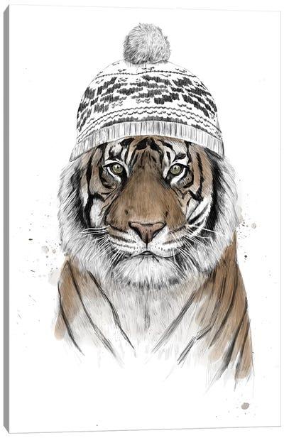 Siberian Tiger Canvas Art Print