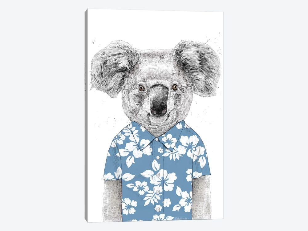 Summer Koala Blue by Balazs Solti 1-piece Art Print