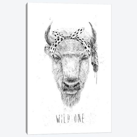 Wild One Canvas Print #BSI188} by Balazs Solti Canvas Art Print