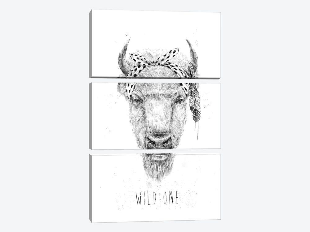 Wild One by Balazs Solti 3-piece Art Print