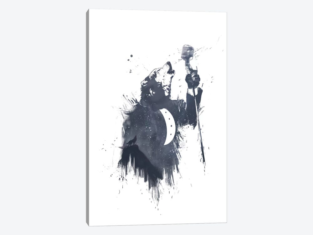 Wolf Song II by Balazs Solti 1-piece Art Print