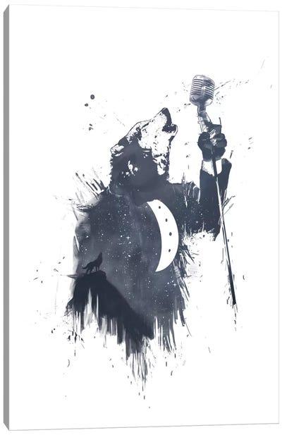 Wolf Song II Canvas Art Print