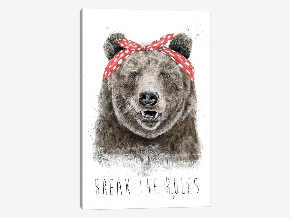 Break The Rules (In Color) by Balazs Solti 1-piece Art Print