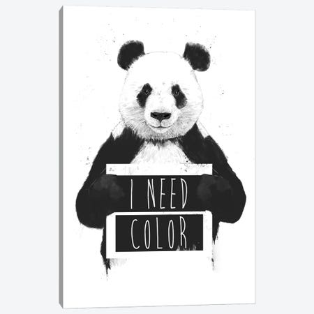I Need Color Canvas Print #BSI199} by Balazs Solti Canvas Wall Art