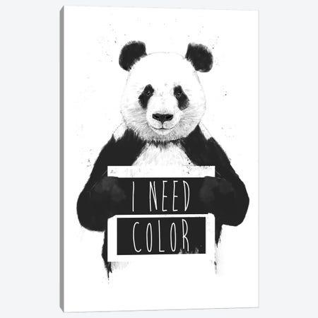 I Need Color Canvas Print #BSI199} by Balazs Solti Canvas Wall Art
