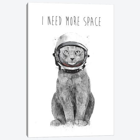 I Need More Space Canvas Print #BSI208} by Balazs Solti Canvas Wall Art