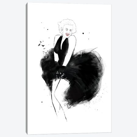 Marilyn Canvas Print #BSI224} by Balazs Solti Canvas Art Print