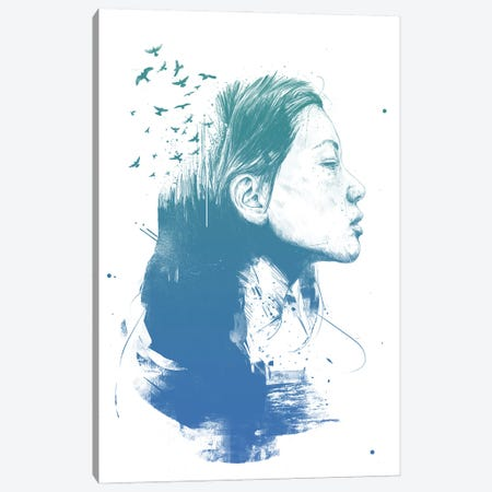 Open Your Mind Canvas Print #BSI227} by Balazs Solti Art Print