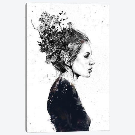 Coming Home Canvas Print #BSI233} by Balazs Solti Art Print