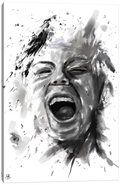 Anger Canvas Print #BSI26