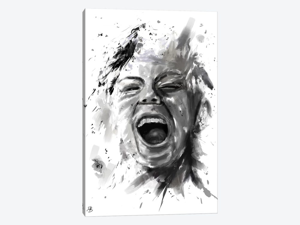 Anger by Balazs Solti 1-piece Canvas Wall Art