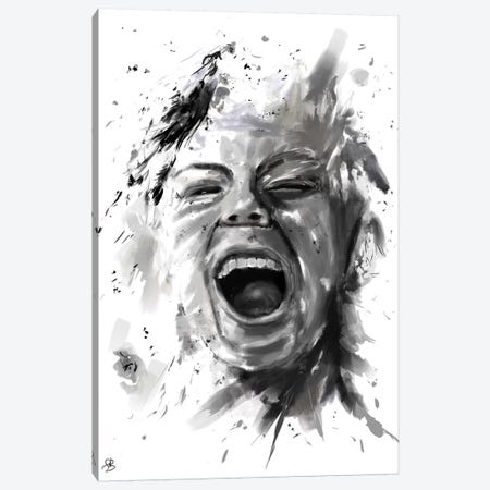 Anger Canvas Print #BSI26} by Balazs Solti Canvas Wall Art