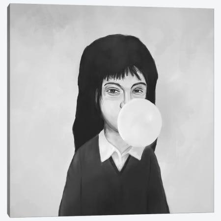 Bubble Canvas Print #BSI36} by Balazs Solti Canvas Art Print