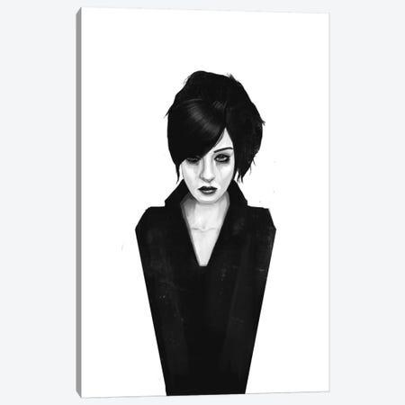 The Widow Canvas Print #BSI3} by Balazs Solti Canvas Artwork