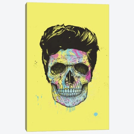 Color Your Death Canvas Print #BSI40} by Balazs Solti Canvas Art Print