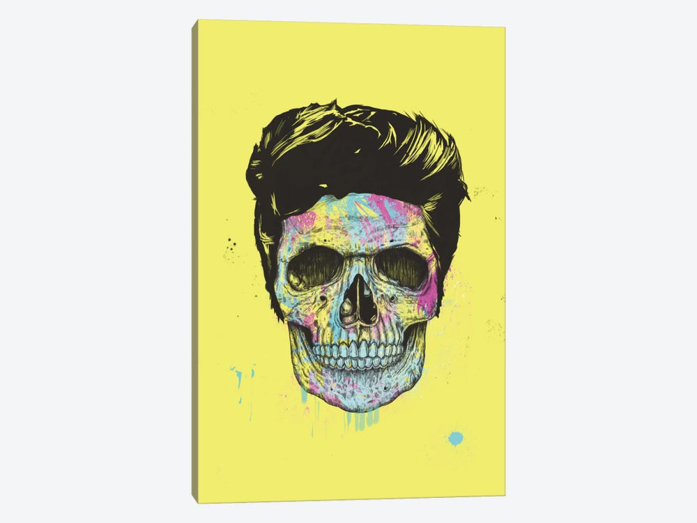 Color Your Death by Balazs Solti 1-piece Canvas Wall Art