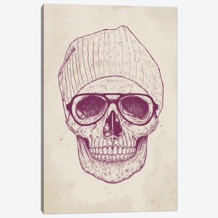 Cool Skull Canvas Print #BSI43} by Balazs Solti Canvas Art Print