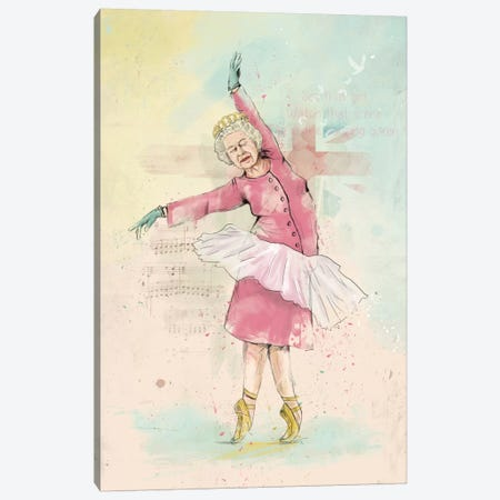 Dancing Queen Canvas Print #BSI45} by Balazs Solti Canvas Art