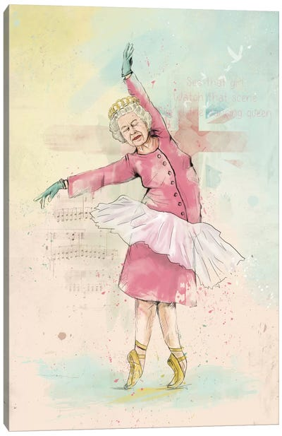 Dancing Queen Canvas Print #BSI45