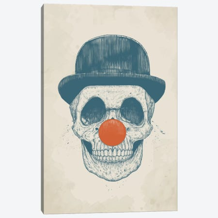 Dead Clown Canvas Print #BSI47} by Balazs Solti Canvas Artwork