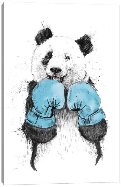 The Winner Canvas Art Print