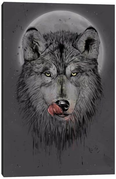Dinner Time (Dark Version) Canvas Print #BSI50