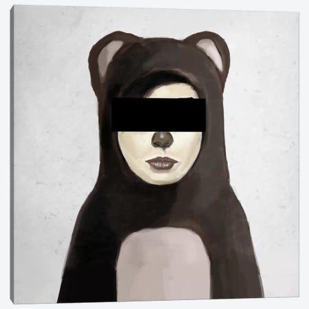 Fake Bear Canvas Print #BSI53} by Balazs Solti Canvas Artwork