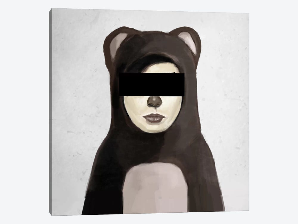 Fake Bear by Balazs Solti 1-piece Canvas Art
