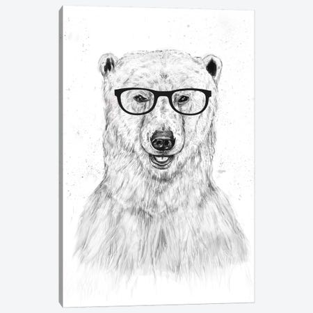 Geek Bear Canvas Print #BSI56} by Balazs Solti Canvas Art Print