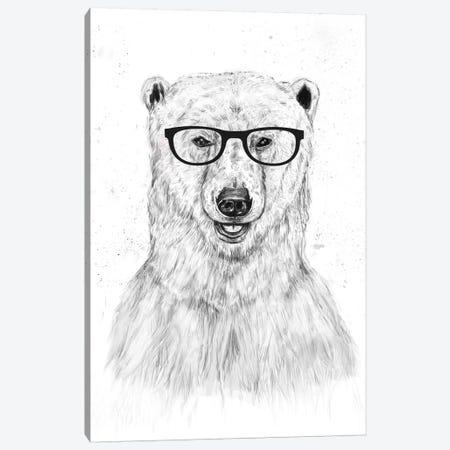 Geek Bear Canvas Print #BSI56} by Balazs Solti Canvas Art Print