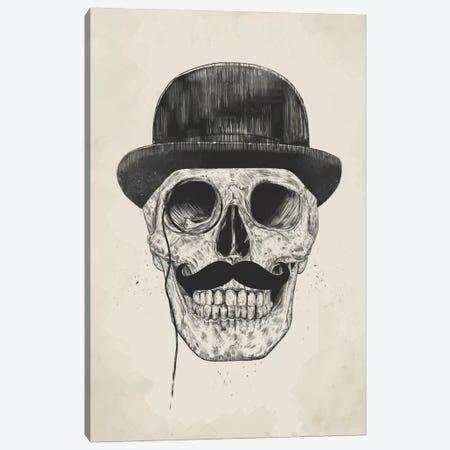 Gentlemen Never Die Canvas Print #BSI57} by Balazs Solti Art Print