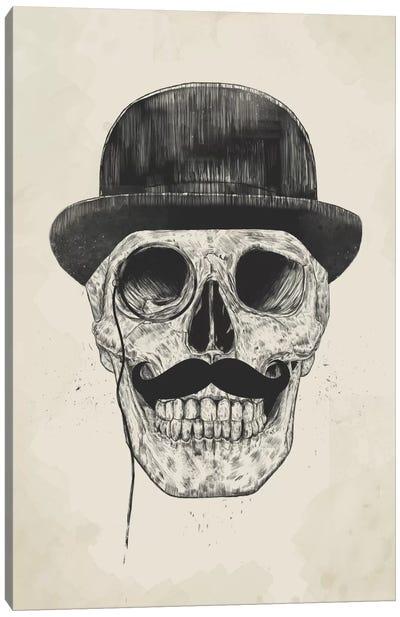 Gentlemen Never Die Canvas Art Print