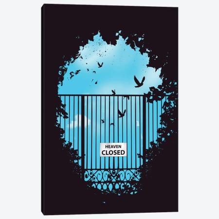 Heaven's Door Canvas Print #BSI60} by Balazs Solti Art Print