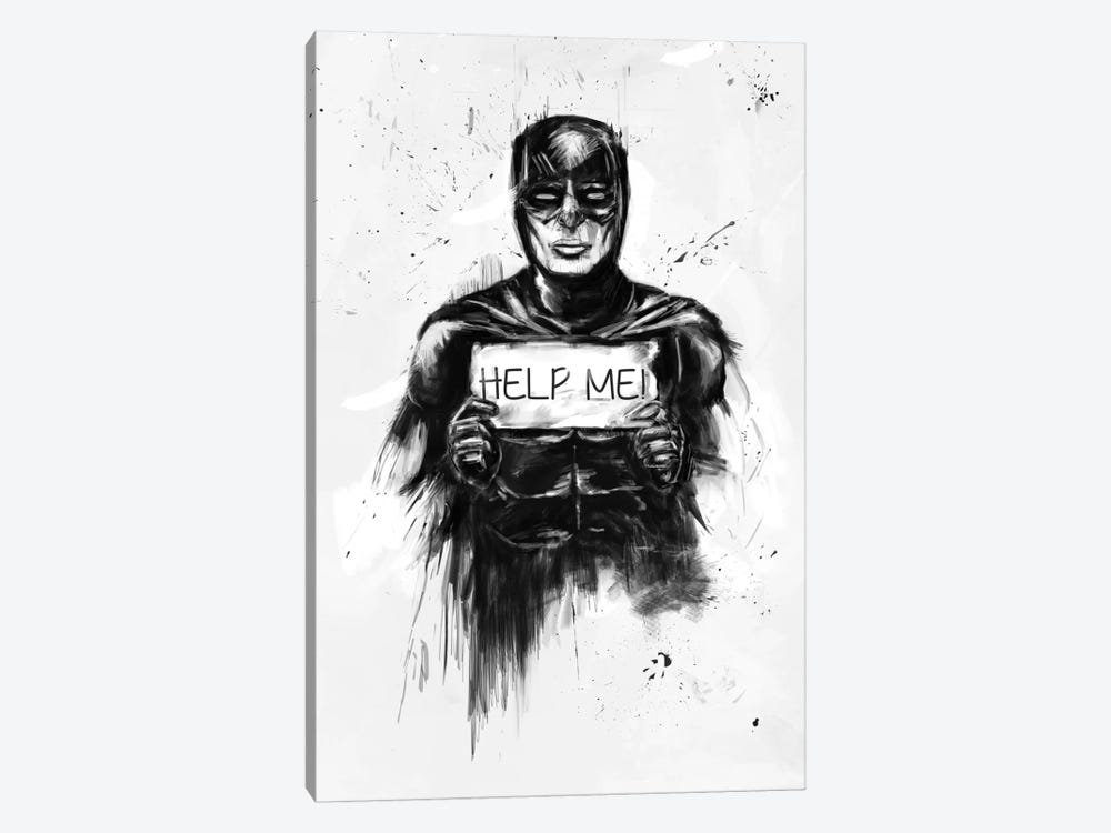 Help Me! by Balazs Solti 1-piece Canvas Print