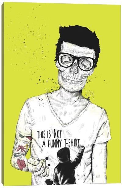 Hipsters Not Dead Canvas Print #BSI65