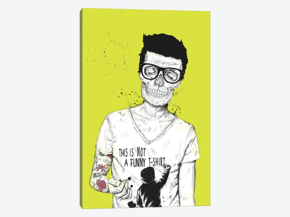 Hipsters Not Dead by Balazs Solti 1-piece Canvas Print