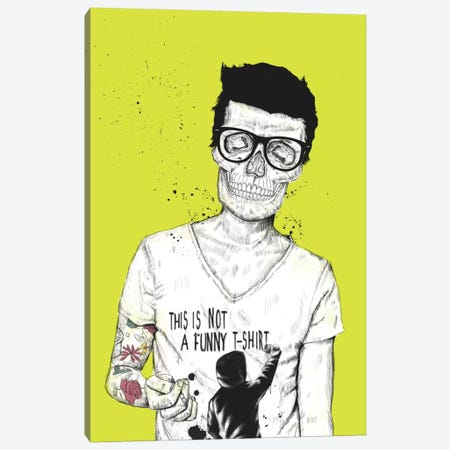 Hipsters Not Dead Canvas Print #BSI65} by Balazs Solti Canvas Wall Art