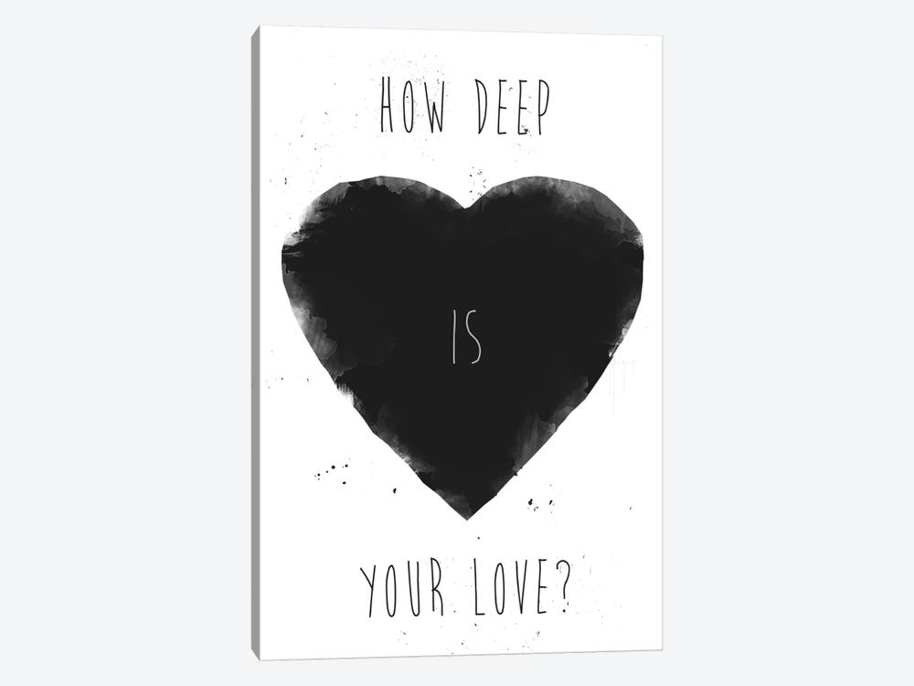 How Deep Is Your Love by Balazs Solti 1-piece Canvas Wall Art