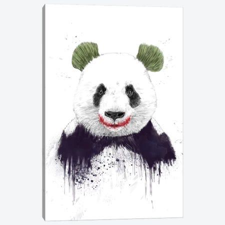 Jokerface Canvas Print #BSI70} by Balazs Solti Canvas Artwork