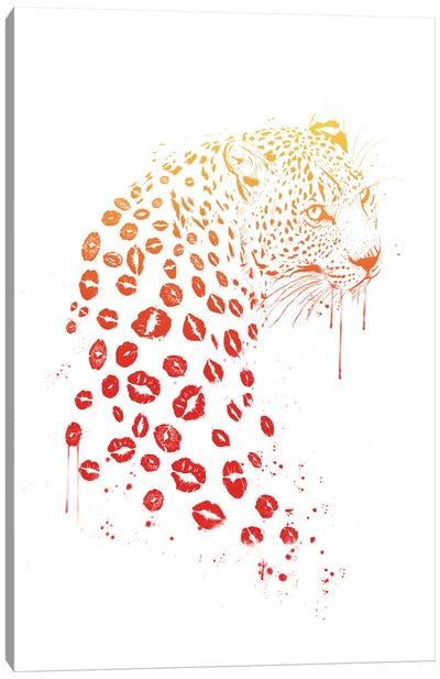 Kiss Me Canvas Art Print
