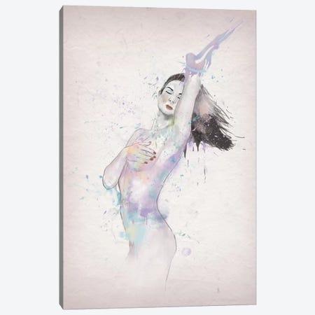 Lady Canvas Print #BSI72} by Balazs Solti Canvas Wall Art